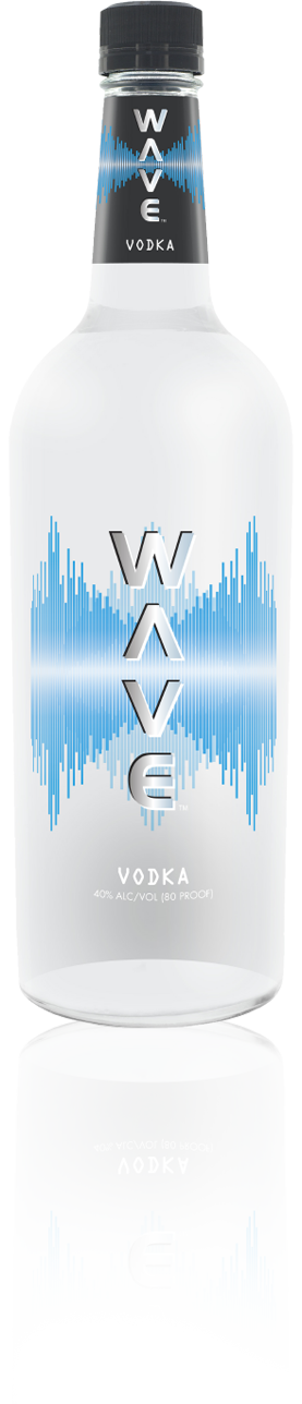 Wave Vodka Bottle